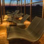 Unsere Doppelliege Wellness Tex Taupe im Hotel Mossbylund in Skivarp, Schweden
