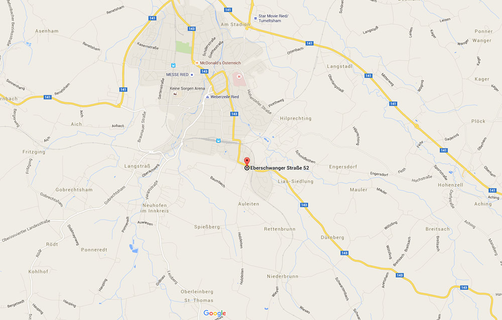 Schauraum_Googlemaps