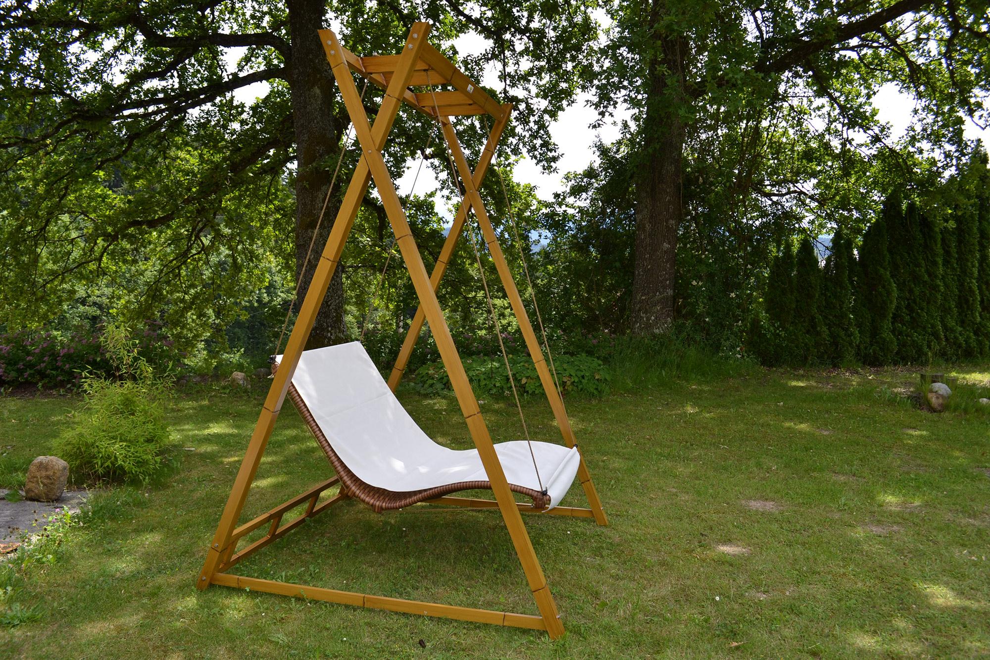doppelliege sonnendach. Black Bedroom Furniture Sets. Home Design Ideas