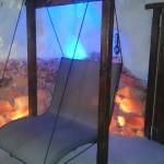 Doppelliege WELLNESS TEX in der Salzgrotte Gemen