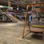 Schwebeliege Tobacco mit Gestell Jakarta Bamboo in der Weberzeile, Ried im Innkreis